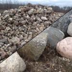 Various Size Boulders